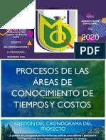 PROCESOS DE LA GESTION DE PROYECTOS