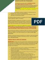 instrucciones posters