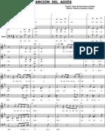 Cancion Del Adios (SABr) Horacio Guarany Ar. G. Molina Althaus-Enc