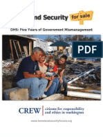 Homeland Security for Sale Report