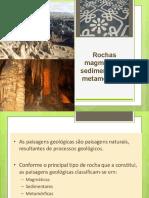 3- Paisagens Geológicas e Rochas