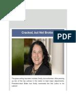 Dr Juan Andrade, Jr. - Cracked but Not Broken