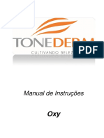 MANUAL EQUIPAMENTO NEW OXY SEM VÁCUO R09