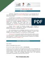 MODELO DE CORREÇÃO - PROF. ARISTÓCRATES