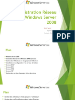 Administration Réseau sous Windows Server 2008