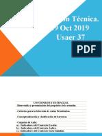 Reunion Tecnica 09 Oct. usaer