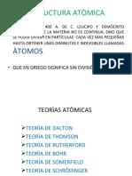 TEORÌAS ATÒMICAS