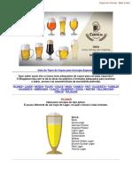 Copos e Taças - Cervejas