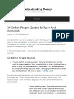 34 Selfish People Quotes to Warn and Admonish (1)
