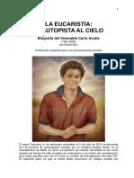 CARLO ACUTIS BIOGRAFIA COMPLETA CON FRASES
