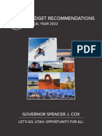 Spencer Cox 2021 budget recommendation