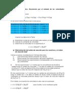 Ejercicio resuelto de cinética química. Metodo de velocidades iniciales.pdf