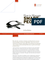 How to manage SmartPeople
