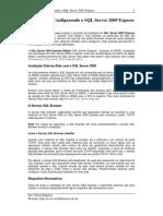manual de instalação e configuração do sql server 2005