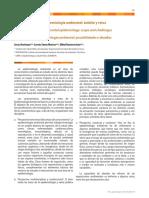 EPIDEMIOLOGIA AMBIENTAL ambito y retos