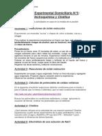 Trabajo Experimental Domiciliario N°3 2do cuat