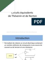 4-Circuits Equivalents de Thevenin Et Norton