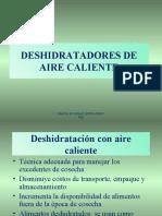 DESHIDRATADORES DE AIRE CALIENTE.ppt