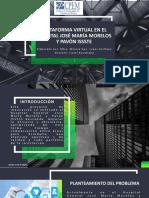 Plataforma virtual HGJMMYP - MÓNICA