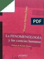 Maurice Merleau-Ponty - La fenomenología y las ciencias humanas.pdf