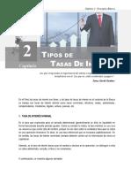 TIPOS DE TASAS DE INTERÉS (1)