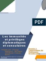 Imminutés et priviléges diplomatiques et consulaires -WORD