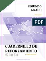 2° CUADERNILLO DE REFORZAMIENTO ALUMNO