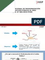 Sesion 4 Gestion Publica Modernizacion Del Estado