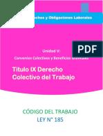 Derecho Colectivo del Trabajo - Titulo IX