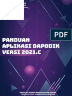 Panduan Aplikasi Dapodik versi 2021.c