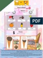 Menú helados