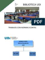 INSTRUCTIVO NORMAS ICONTEC