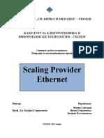 Scaling Provider Ethernet