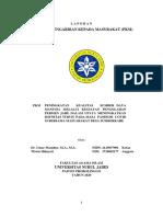 laporan PKM MANSUR