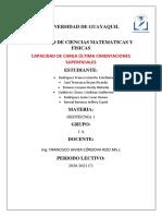 CAPACIDAD DE CARGA ÚLTIMA CIMENTACIONES SUPERFICIALES