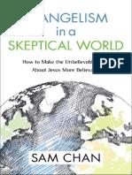 Evangelismo en Un Mundo Escéptico - Chan