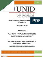 LAS REDES SOCIALES MARKETING PARA EL SIGLO XXI DE LAS miPYMES