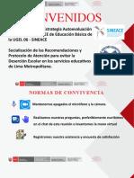 PPT SENSIBILIZACION IIEE  PARA EVITAR LA DESERCION ESCOALR - SUGERENCIAS