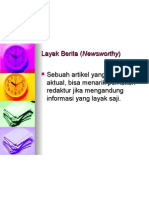 Layak Berita (Newsworthy)
