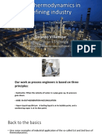 Applied thermodynamics in the refining industry