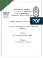 RESUMENES CAPITULOS LIBRO