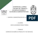 EJEMPLOS DE DISEÑO DE SERVICIOS Y PRIDUCTOS KEVIN PRIEGO.docx