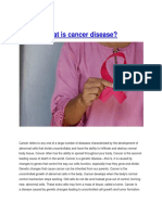 What is Cancer Disease-converted