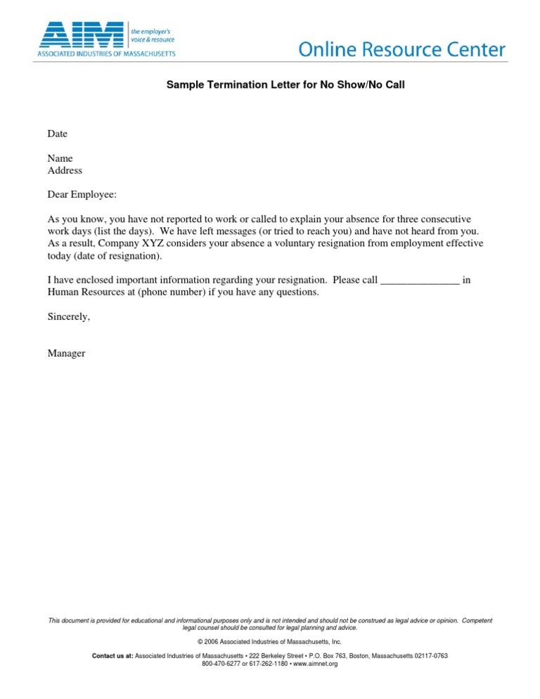 Employee Termination Letter  BesikEightyCo