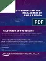 2.5.5 relevadores de proteccion de falla a tierra