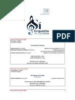 Conciertos IMAE 2021