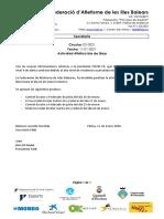 C02-2021 Paralización actividad atlética isla de Ibiza