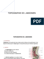 Topographie abdomen 2018 1