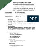 Acta de Entrega - Inicio Obra Chaccrampa - 2