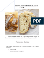 Prelucrarea aluatului - Procesul tehnologic de preparare a painii
